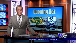 NDSU wins thrilling opening game in overtime