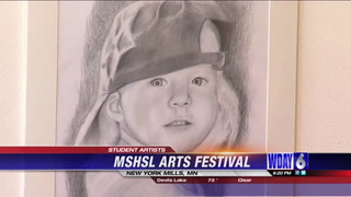 MN students compete in State High League's Art Festival