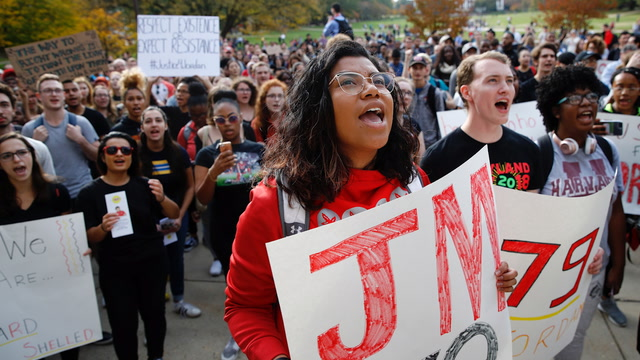 A student's death and administrators' choices leave Maryland's campus divided