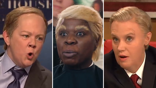 From Spicer to Giuliani: How SNL female cast members break the gender mold