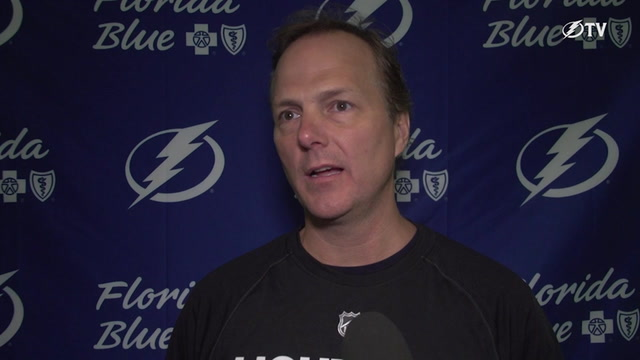 Jon Cooper says it's a big week for Lightning to build chemistry