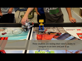 Hastings Middle School's robotics competition