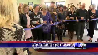 HERO charity celebrates building expansion