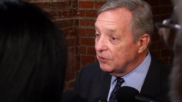 Durbin on health-care vote's postponement: 'We don't think it's over'