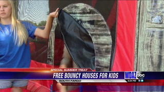 Charism kids receive special bouncy treat