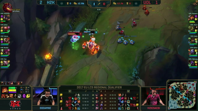 Unicorns Of Love vs. H2K-Gaming - Game 4 Highlights - EU LCS - Worlds Qualifier 2017