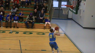 Wolsey-Wessington's Bennett White dunk