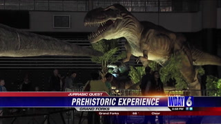 Some Jurassic friends made a big appearance over the weekend in Grand Forks