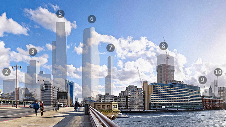 London's Skyline Is About To Get Very Crowded