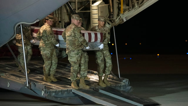 Remains of Pensacola shooting victims received at Dover Air Force base