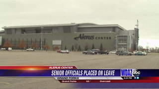 Top Alerus Center officials put on paid leave