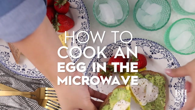 How to Cook an Egg in the Microwave