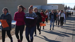 Twin Ports students participate in nationwide walkout