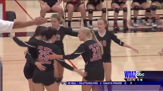 EDC volleyball: Red River takes down Wahpeton