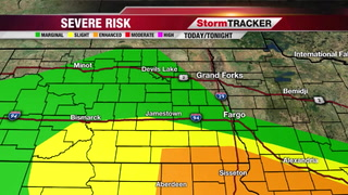 Strong/Severe Storms Possible Today