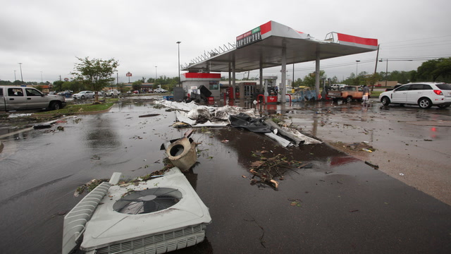 Rampage of severe weather stretches across several states