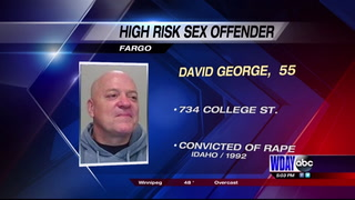 Fargo Police notifying public of high-risk sex offender