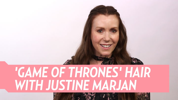 Watch Celeb Hairstylist Justine Marjan Create a Mother of Dragons-Inspired 'Game of Thrones' Half-Up Braid