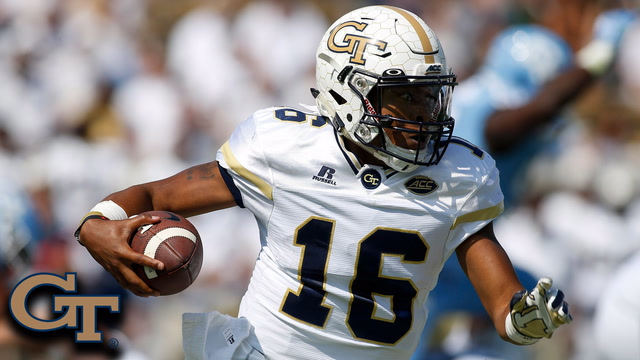 Georgia Tech QB TaQuon Marshall Highlights vs. North Carolina