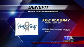 """Pray for Gray"" holds benefit to help those battling brain tumors"