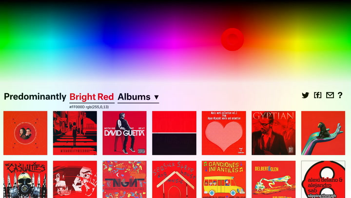 Discover Music Through Colors On This New Site