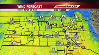 StormTRACKER Monday Afternoon Forecast