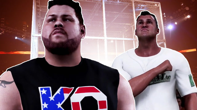 WWE 2K18: Hell in a Cell Kevin Owens vs Shane McMahon