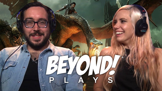 Shadow of War PS4: FIGHTING DRAGONS AND NAZGUL | Beyond Plays