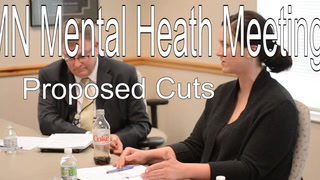 Proposed Cuts Discussed At Mn Mental Health Meeting