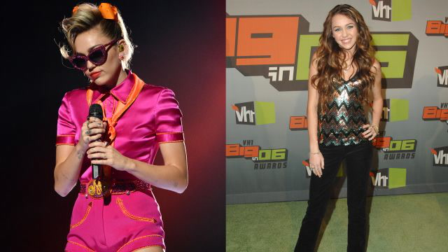 Miley Cyrus's Fashion Evolution