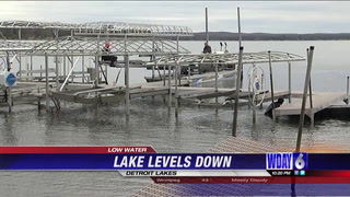Barge system needed for low water levels in Detroit Lakes