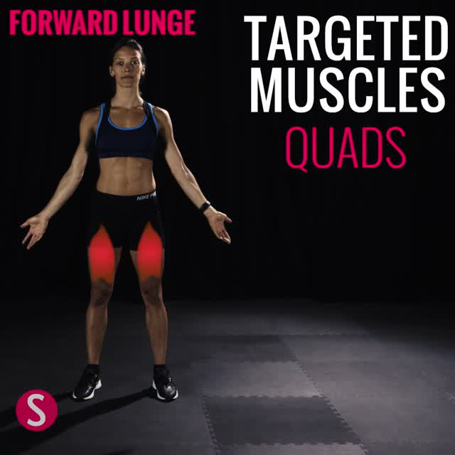 Moves and Muscles: Forward Lunge