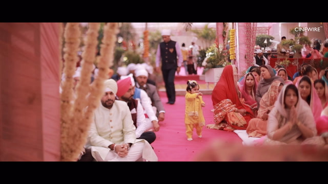 Navleen + Rajandeep | Ludhiana, India | AKM Resorts
