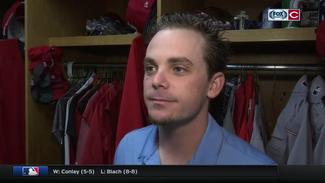 Scooter Gennett was prepared to take the mound for his team