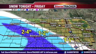 Tracking Snow Tonight Out West & Arctic Air