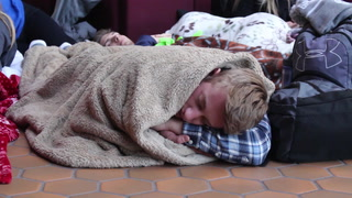 UMD students camp out for Frozen Four tickets