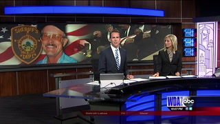 Funeral in Devils Lake honoring long time County Sheriff, Perry Horner