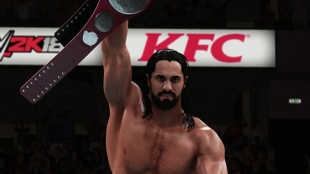 WWE 2K18 - Seth Rollins As Dean Ambrose vs The Bar