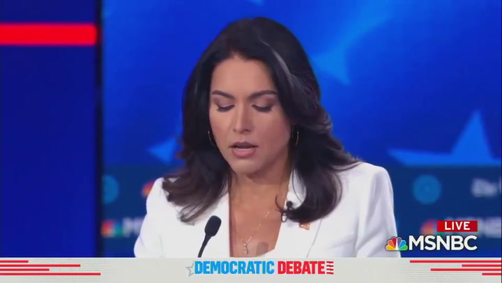 Buttigieg responds to Gabbard: I have enough judgment to not sit down with a murderous dictator