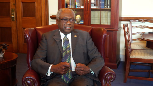 Rep. Clyburn reacts to Joe Biden's comment on segregationists