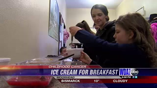 Local church celebrates ice cream for breakfast day with good cause in mind