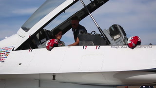 Becoming an honorary USAF Thunderbird
