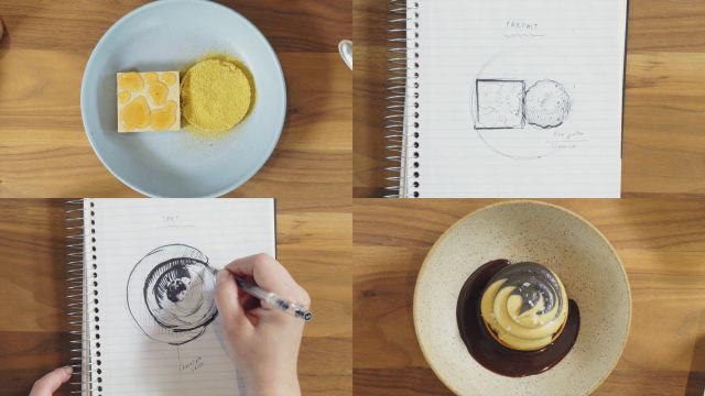 This Restaurant Turns Sketches Into Beautiful Desserts