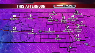 Tracking Cold Temps Today & 2 Rounds of Snow to Come