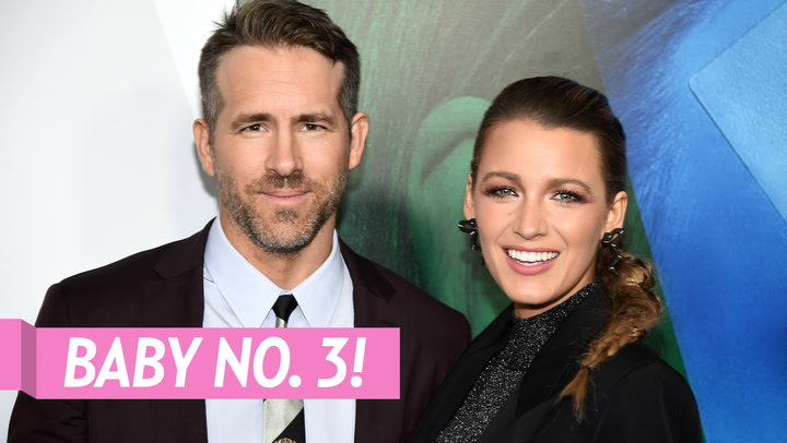 Ryan Reynolds Reveals 1st Photo of 3rd Daughter With Blake Lively