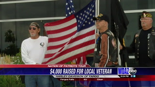 Nation of Patriots Tour expected to raise $4,000 for local veteran