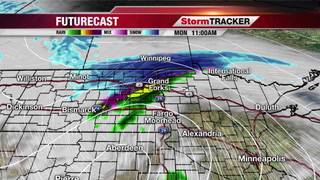 Winter Making A Return In Parts Of The Area