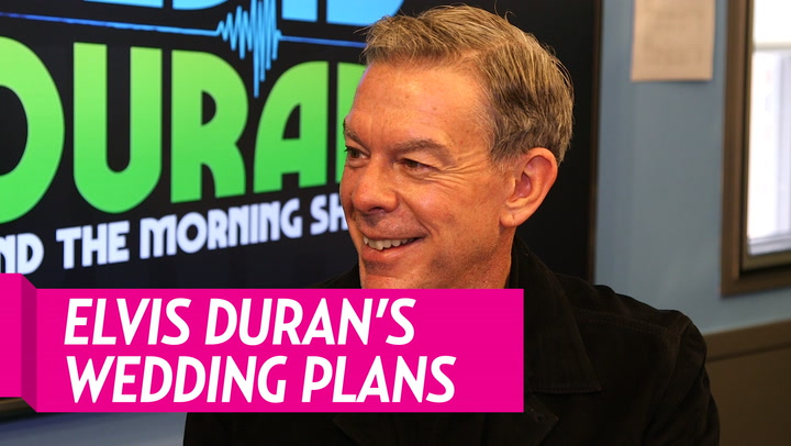 Elvis Duran Jokes That His 'Big' Wedding to Alex Carr Is Going to Be 'the Worst Day of My Life'