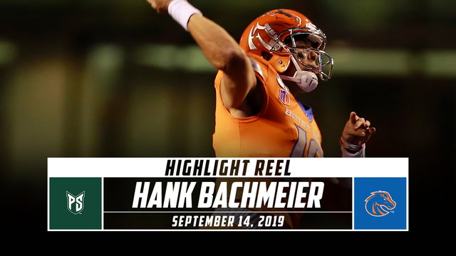 Hank Bachmeier Highlights: Portland State vs. Boise State (2019)
