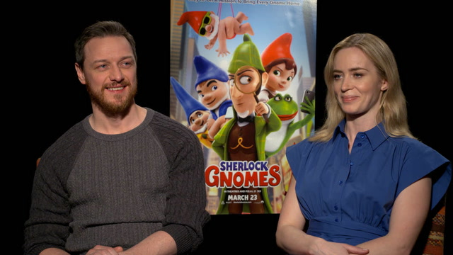 Meet the Actors Behind 'Sherlock Gnomes,' Your Kid's New Favorite Movie